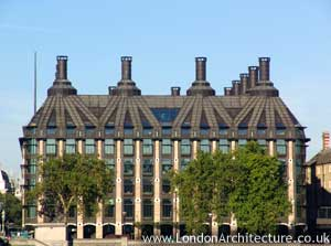 Photo of Portcullis House in London, England