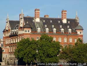 Norman Shaw North Building in London, England