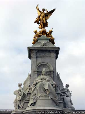 Victoria Memorial in London, England