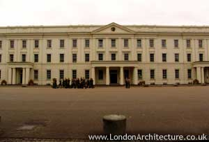 Wellington Barracks in London, England