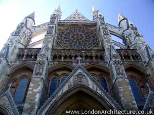 Photo of Westminster Abbey in London, England