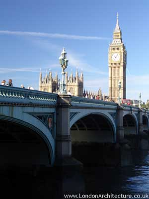 Westminster Bridge in London, England