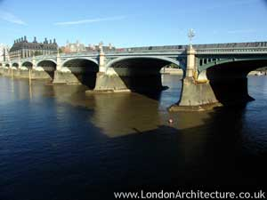 Photo of Westminster Bridge in London, England