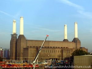 Photo of Battersea Power Station in London, England