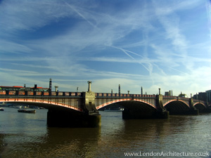 Vauxhall Bridge in London, England