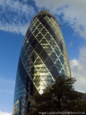30 St. Mary Axe in London, England