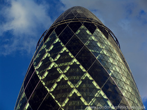 Photo of 30 St. Mary Axe in London, England
