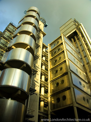 Lloyd's of London Headquarters in London, England
