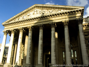 The Royal Exchange in London, England