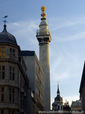The Monument in London, England