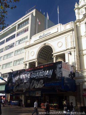 Empire Theatre in London, England