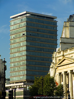 Photo of New Zealand House in London, England