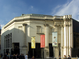 National Gallery - Sainsbury Wing in London, England