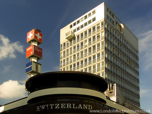 Swiss Centre in London, England