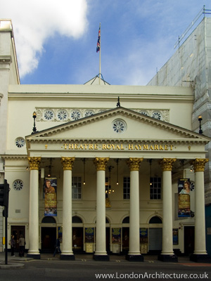 Theatre Royal Haymarket in London, England