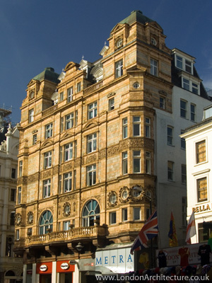Victory House in London, England