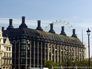 Portcullis House in London, England