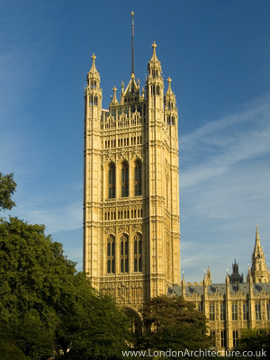 Photo of Victoria Tower in London, England