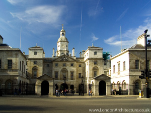 Horse Guards in London, England