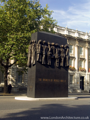 Women of World War II Memorial in London, England