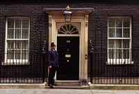 Photo of 10 Downing Street in London, England