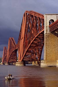 Photo of Firth of Forth Bridge in Edinburgh, Scotland