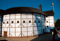 Photo of Shakespeare's Globe Theatre in London, England