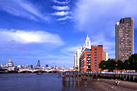 Oxo Tower in London, England